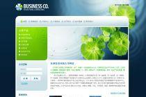 DEDECMS环保绿色纯DIV+CSS结构建站宝盒企业模板