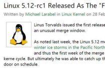 暴雪也没拦住的新版本:冰冻荒原版Linux内核还是来了