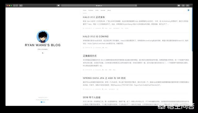 程序员如何搭建一个简洁漂亮实用的个人博客?  程序员 搭建 简洁 漂亮 实用 第3张