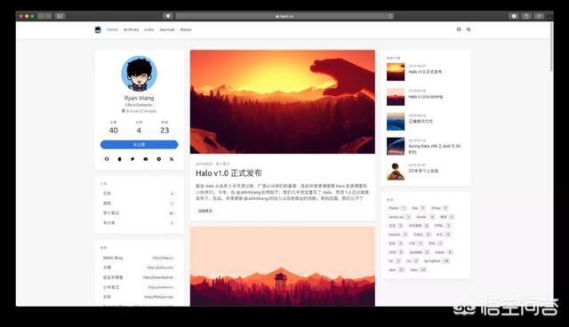 程序员如何搭建一个简洁漂亮实用的个人博客?  程序员 搭建 简洁 漂亮 实用 第4张