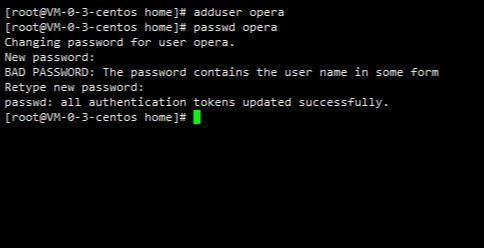 Linux实战014:Centos创建用户并添加root授权  centos技巧 第4张