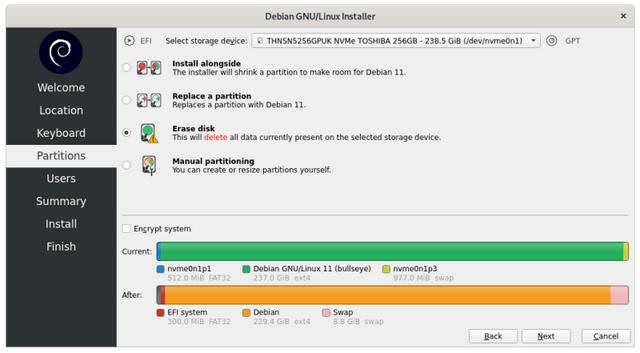 如何轻松安装 Debian Linux 系统  linux系统 第13张
