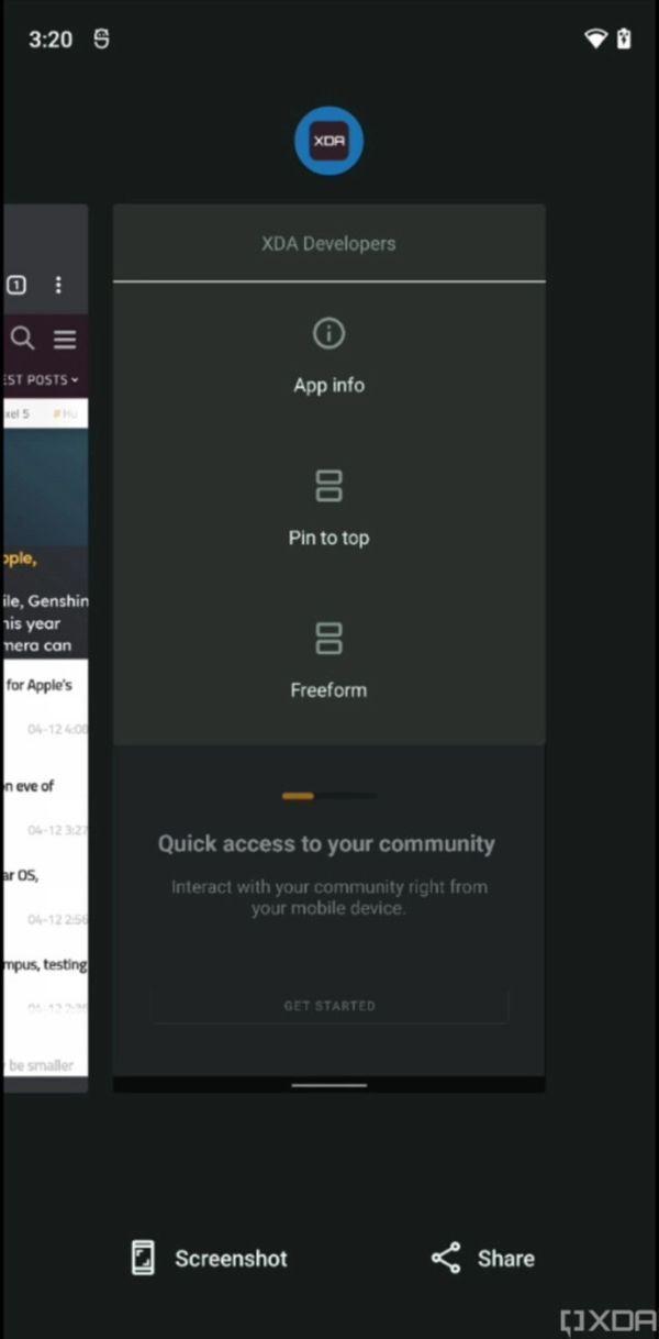 Android 12新版本偷跑:音量滑块和快速设置有明显变化  安卓12 第3张