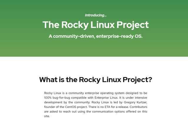 CENTOS已死,Rocky Linux会让其重生么?  RedHat linux 第3张
