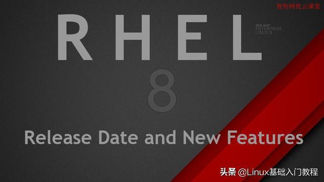 红帽正式发布Red Hat Enterprise Linux 8  RedHat linux 第1张
