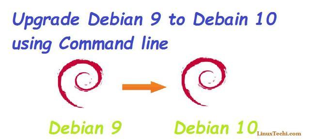 如何通过命令行升级 Debian 9 为 10  linux 第1张